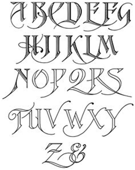 Old English Letters Drawing at GetDrawings | Free download