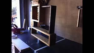 étagère En Palette : 1 fabrication d 39 une tag re en bois de palette youtube ~ Dallasstarsshop.com Idées de Décoration