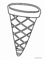 Cone Ice Cream Coloring Printable Pages Template Cool2bkids Drawing Snow Sheets Templates Sketch Getcolorings sketch template