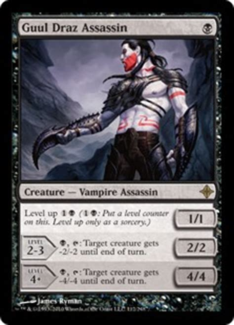 Mtg Assassin Deck List by Guul Draz Assassin Rise Of The Eldrazi Gatherer