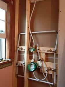 58 Shower Rough In Valve Installation  Shower Valve W