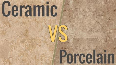 Porcelain Ceramic Tile by The Difference Between Ceramic Porcelain Tile