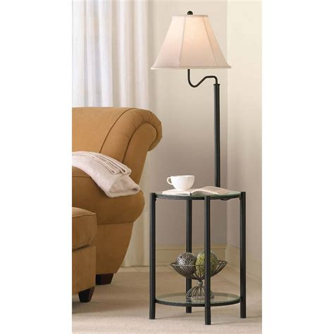 Floor L With Table Attached Walmart by Bedside Table With L Attached Interior And