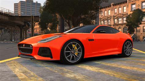 Gta 4 2016 Jaguar F-type Svr V1.0 Mod