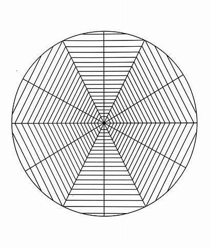 Mandala Coloring Pages Spider Geometric Patterns Mandalas