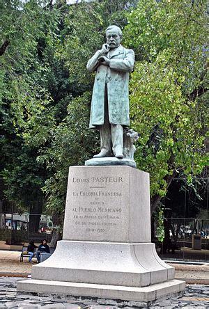 statue  louis pasteur mexico city wikipedia
