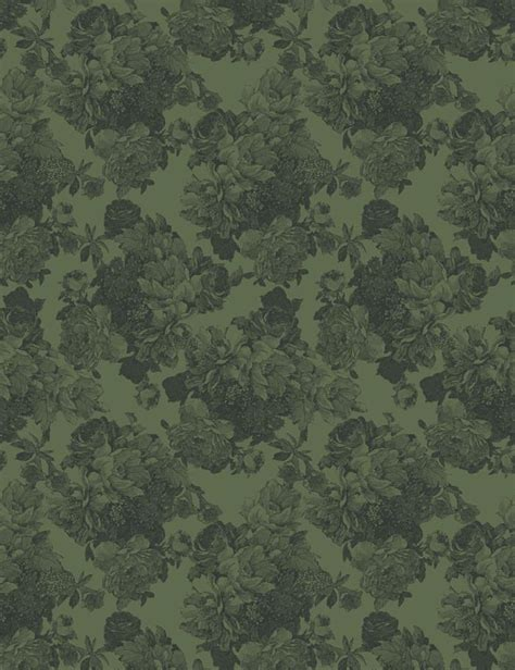 Barbara Ann Removable Wallpaper  Green Wallshoppe