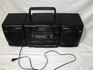 Vintage Panasonic Rx Fm Stereo Radio Cassette Player