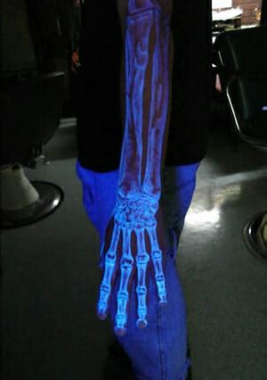 invisible ink black light glow in the dark tattoos the pros cons tat2x blog