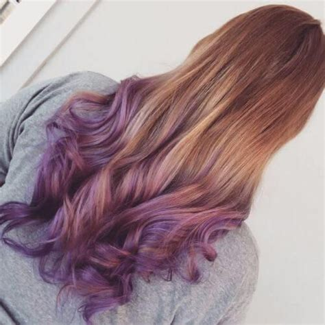 30 Purple Ombre Hair Color Ideas Colored Hair Dyed