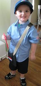 DIY Kid's Mail Carrier Costume Jen Spends Less
