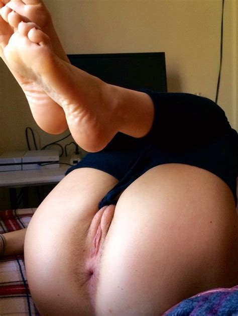 Pants Down Legs Up Beautiful Pussy And Ass Porn Pic