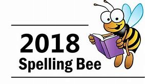 Image result for 2018 Spelling Bee Clip Art