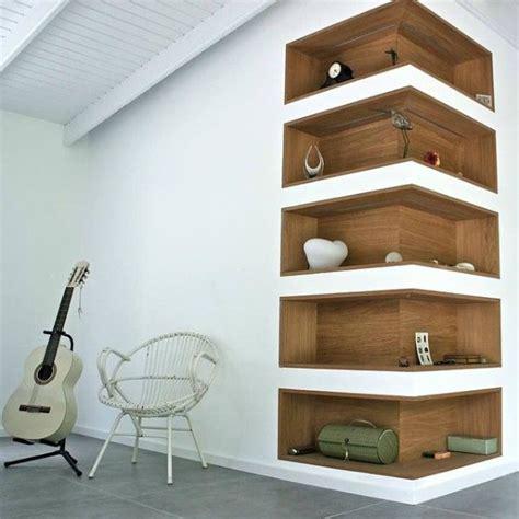 modern corner shelf 30 corner shelf ideas ambie