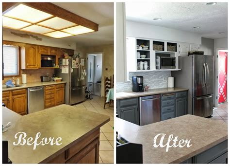 Kitchen Cabinet Remodeling Ideas - cheap kitchen remodel start a low cost kitchen cabinets mybktouch com