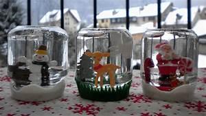 Boule De Neige Noel : id e bricolage de no l facile des boules neige ~ Zukunftsfamilie.com Idées de Décoration