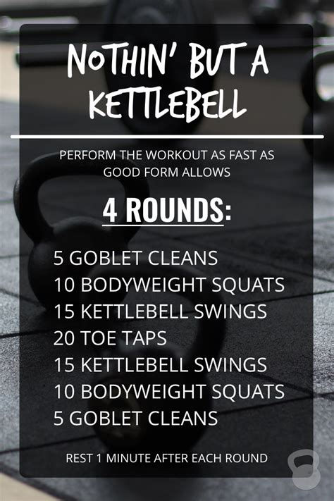 kettlebell workout workouts nothin training fat kettlebells destroy body conditioning muscle core crossfit getting cardio shape help visit challenge wod