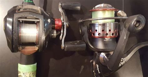 spinning  baitcasting reel explained