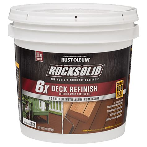 rocksolid  deck refinish preserves boards