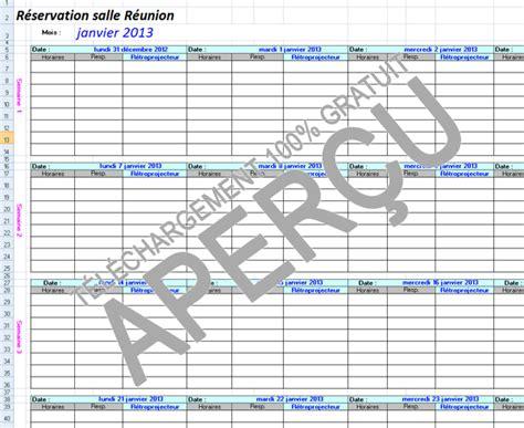 modele planning reservation salle de reunion ccmr