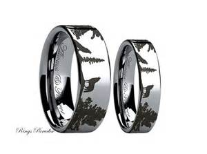 black titanium mens wedding bands his and hers promise rings wedding promise diamond