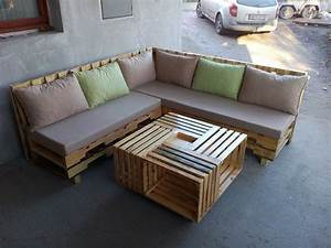 20 patio furniture tutorial for diy made by pallets With pallet sectional sofa plans