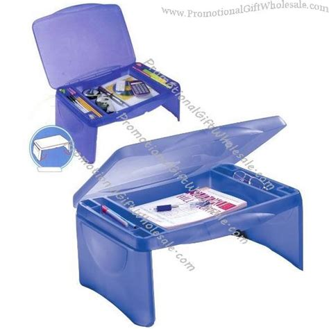 folding lap desk with tray storage collapsible lap tray