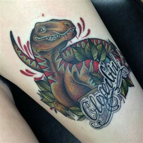 Amazing Jurassic Park Tattoo!  Tattoo Ideas Pinterest