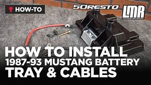 2001 Mustang Battery Cables Wiring Diagram