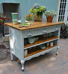 make a kitchen island from a dresser dresser converted to kitchen island painting 9894