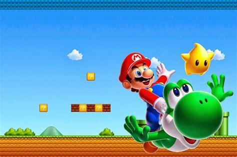 Super Mario Bros Free Party Printables And Invitations