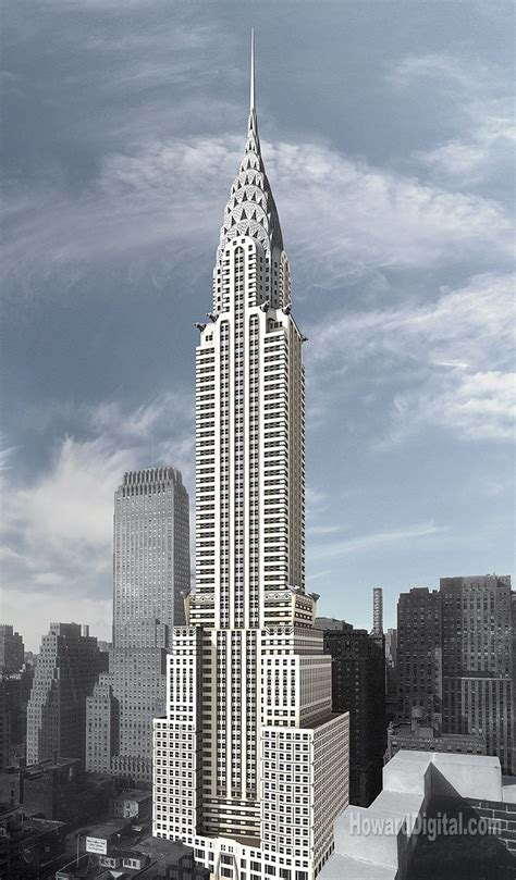 Tower Chrysler by Top 10 Tallest Buildings In Usa Pictures