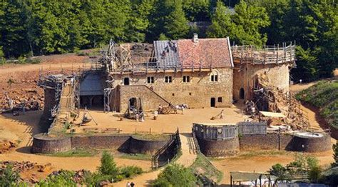 what building a castle the 13th century way can teach