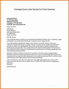 entry level cover letter sop proposal With experienced paralegal cover letter