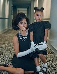 Michel Klein Instagram : kim kardashian and daughter north channel the kennedys ~ Maxctalentgroup.com Avis de Voitures