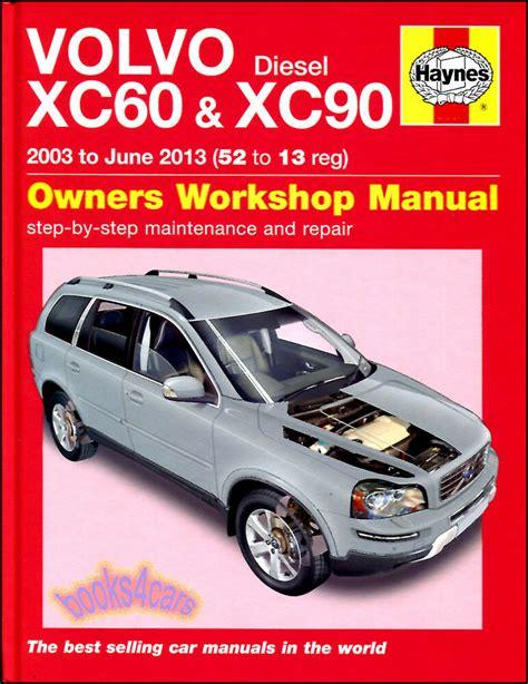 volvo xc xc shop manual service repair book haynes