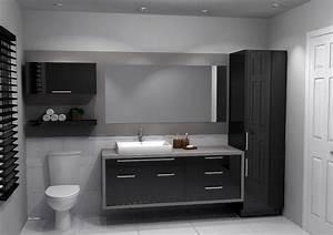 Cuisine Et Salle De Bain : id e d coration salle de bain armoire salle de bain ~ Dode.kayakingforconservation.com Idées de Décoration