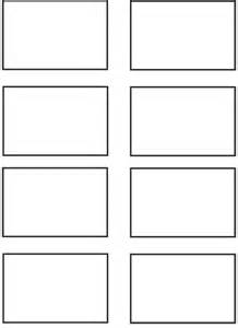 Printable Rectangle Shape