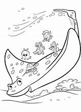 Dory Coloring Finding Pages sketch template