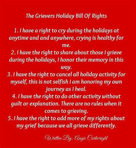 grievers holiday bill  rights  angie cartright