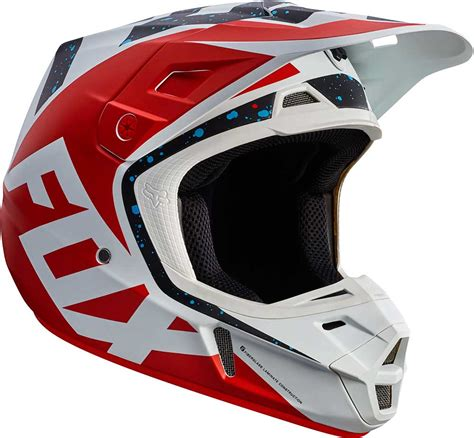 motocross helmet 2017 fox racing v2 nirv helmet mx motocross off road atv