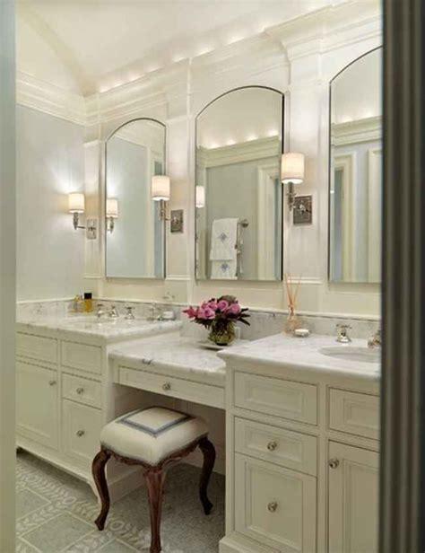 bathroom vanity  makeup area google search