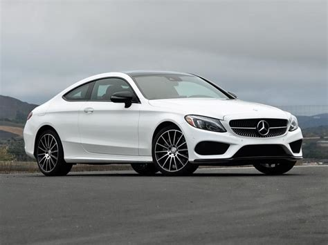 mercedes white short report 2017 mercedes benz c class coupe ny daily news