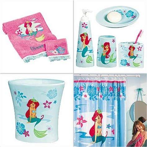 disney ariel bathroom set    ariel bath accessories set