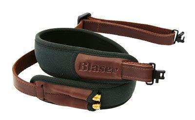cuero gun range blaser green rifle sling with european swivels for sale