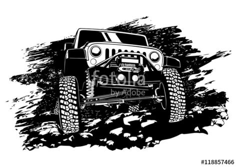 jeep cartoon offroad quot offroad jeep quot stock image and royalty free vector files