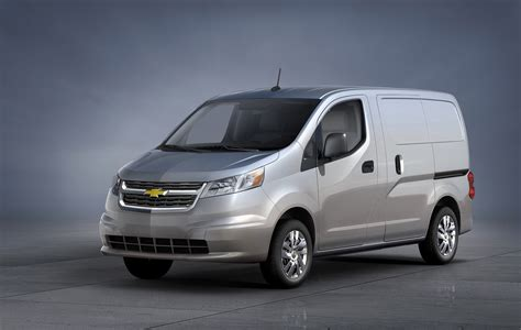 small  chevy city express van offer  electric model