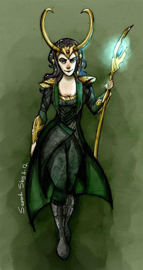 Lady Loki By ~sarah Sky On Deviantart Lady Loki Lady