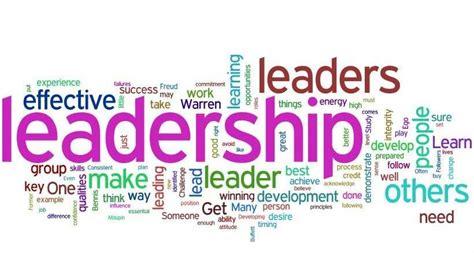 characteristics    effective leader sail sail
