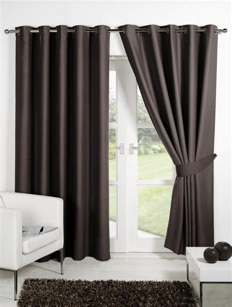 curtain thermal blackout curtains eyelet ring top or